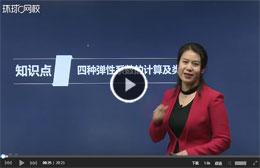 2019年经济师刘艳霞视频